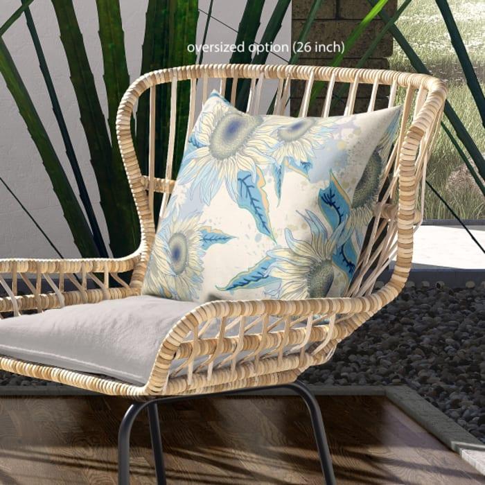 Sunflower Outdoor Cushion Pier 1, Pier 1 Outdoor Furniture Cushions
