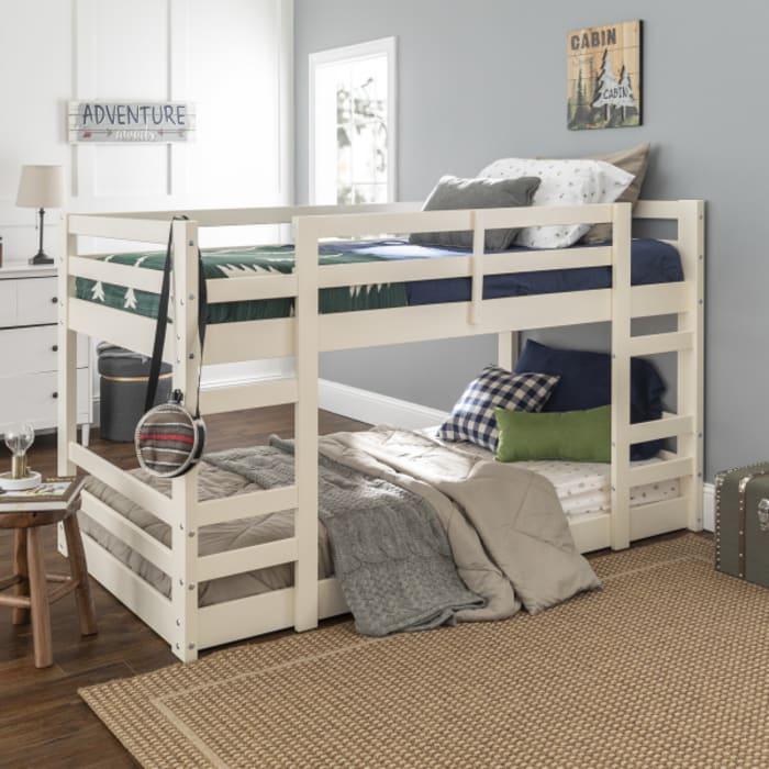 Low Wood Twin Bunk Bed Pier 1, Pier 1 Bedroom Furniture