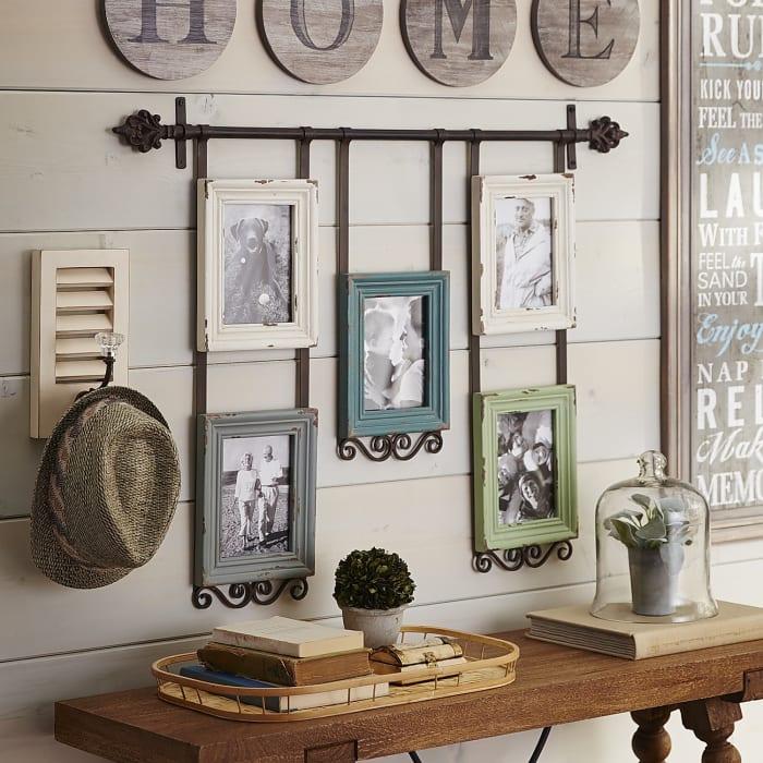 Vintage-Style Bar Collage Frame
