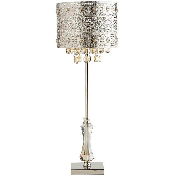 Bohemian Crystal Table Lamp
