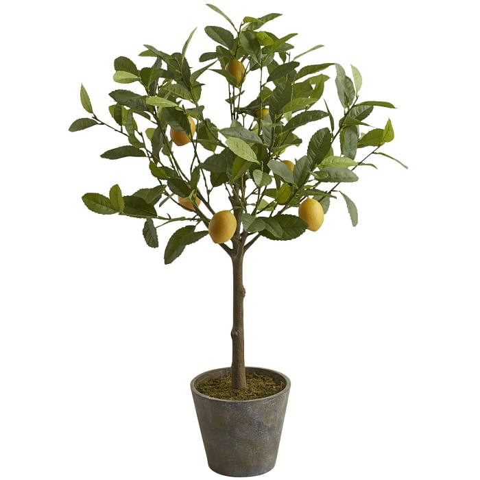 Faux Lemon Tree - 3'