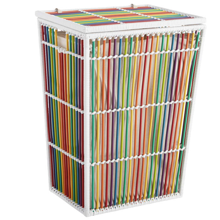 Willow Rainbow Laundry Hamper