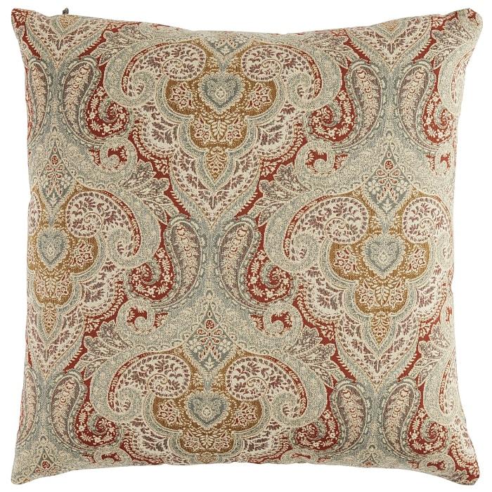 Oversized Jacquard Damask Pillow