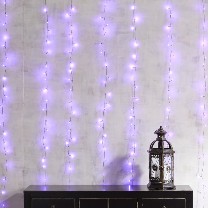 Purple Multi-Strand Curtain Glimmer Strings®
