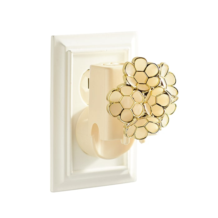 Ivory Flower Electric Diffuser
