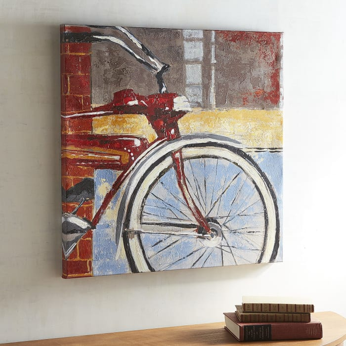 Red Bicycle Art
