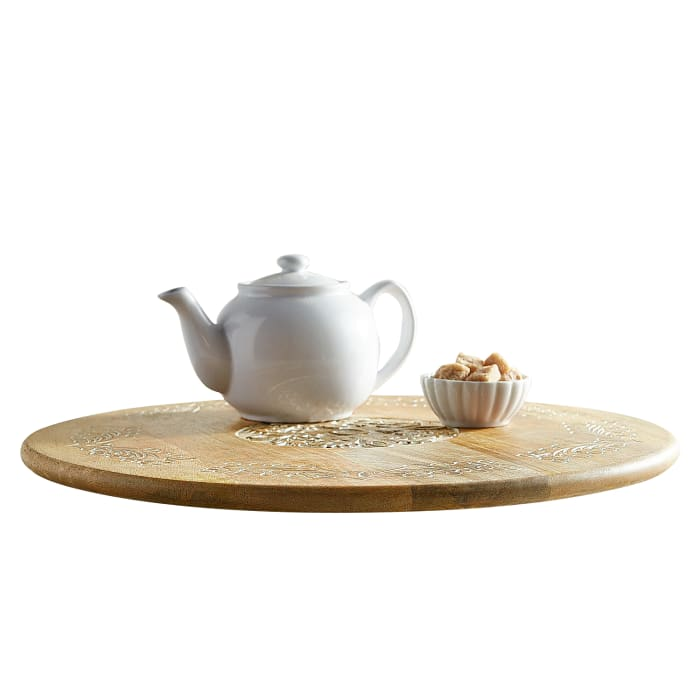 Courtland Wooden Lazy Susan