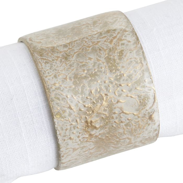 Foiled Marble Napkin Ring