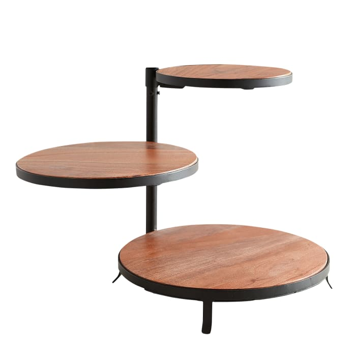 Napa Wooden 3-Tiered Server