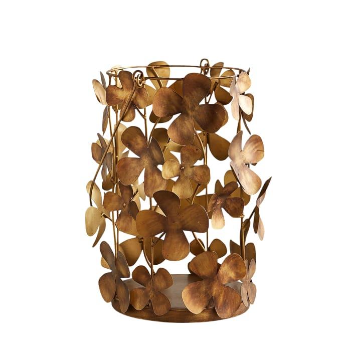 Katherine Small Golden Flower Lantern