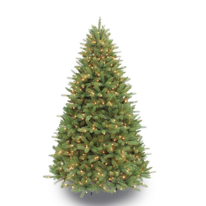 6.5' Pre-Lit Douglas Fir Premier Artificial Christmas Tree