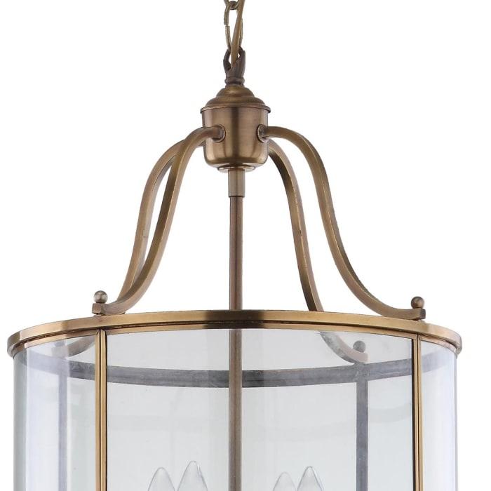 Brass Sutton Place Medium Pendant Light