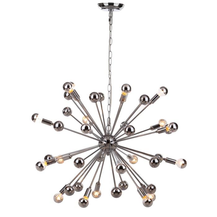 20-Light Starburst Sputnik Pendant Light