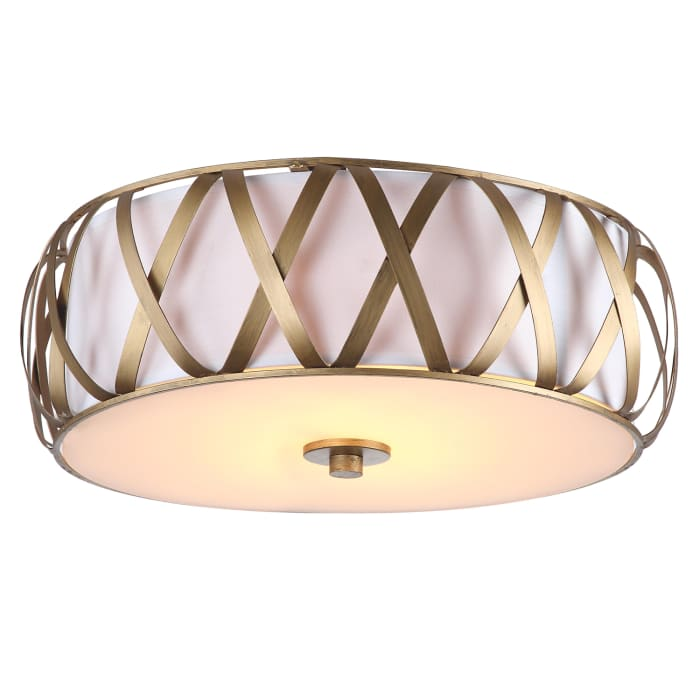 Charing Cross Golden Flush Mount Pendant Light