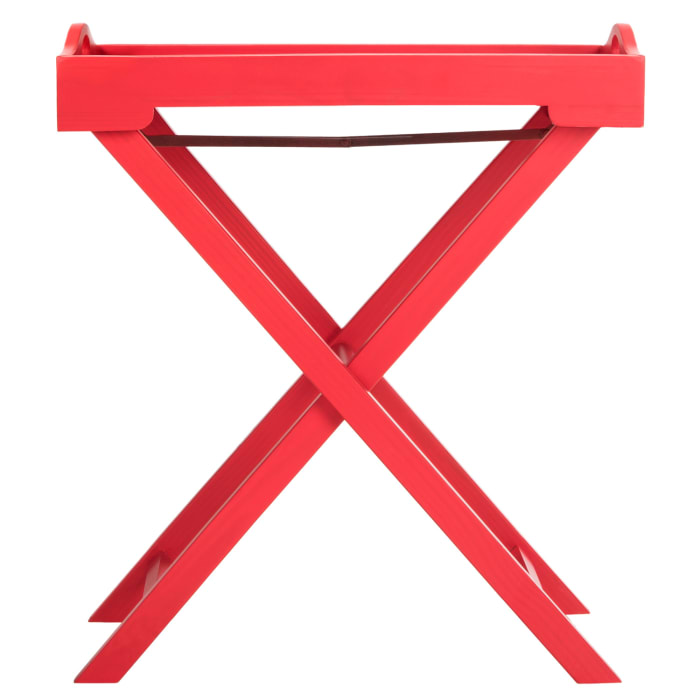 Darcy Red Butler Table