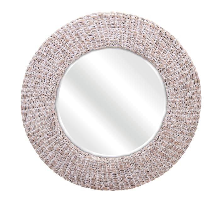 Water Hyacinth Wall Mirror