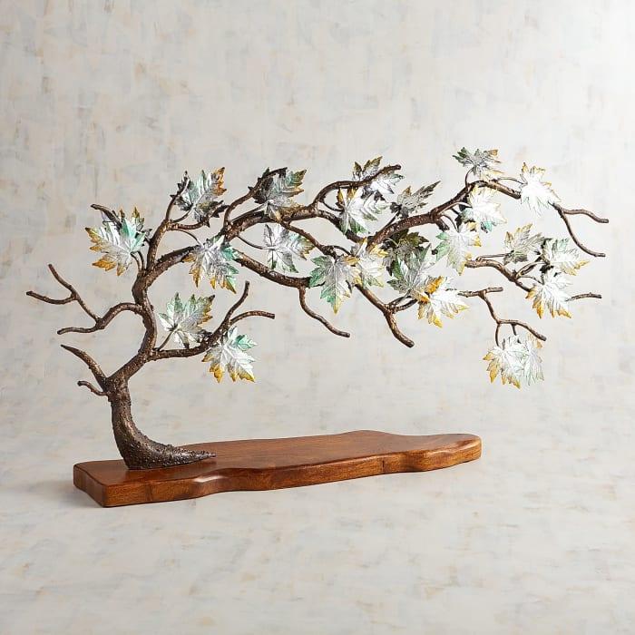 Maple Leaves Tree Sculpture