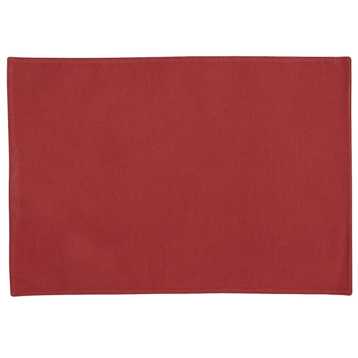 Twill Placemat - Red