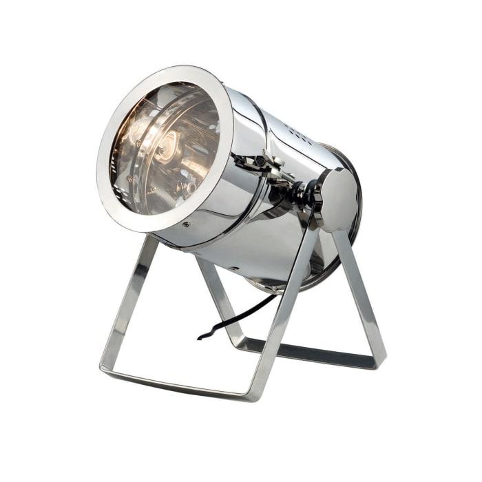 Chrome Spotlight Table Lamp