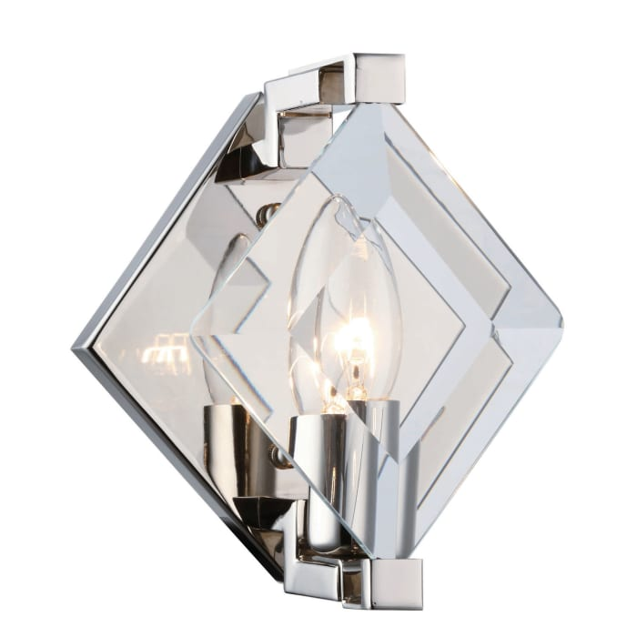 Multicolor Glass Wall Sconce