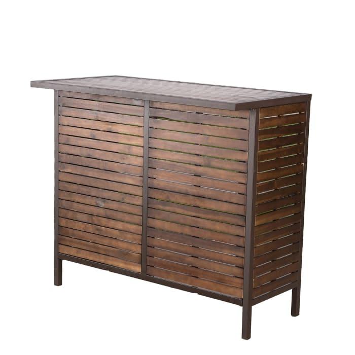 Mason Acacia Bar Table