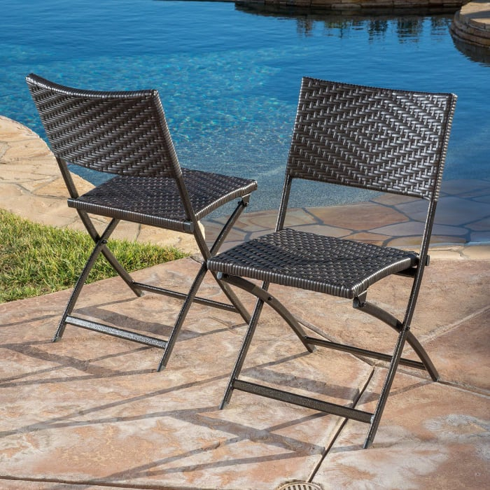 Paseo Brown Dining Chair Set of 2
