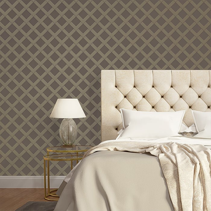 Tempaper® Bronze & Metallic Champagne Wallpaper