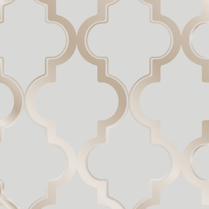 Bronze Gray Marrakesh Self-Adhesive Wallpaper
