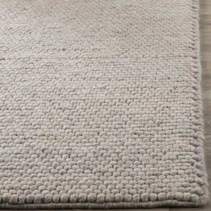 Chipley 620 6' X 9' Silver Wool Rug