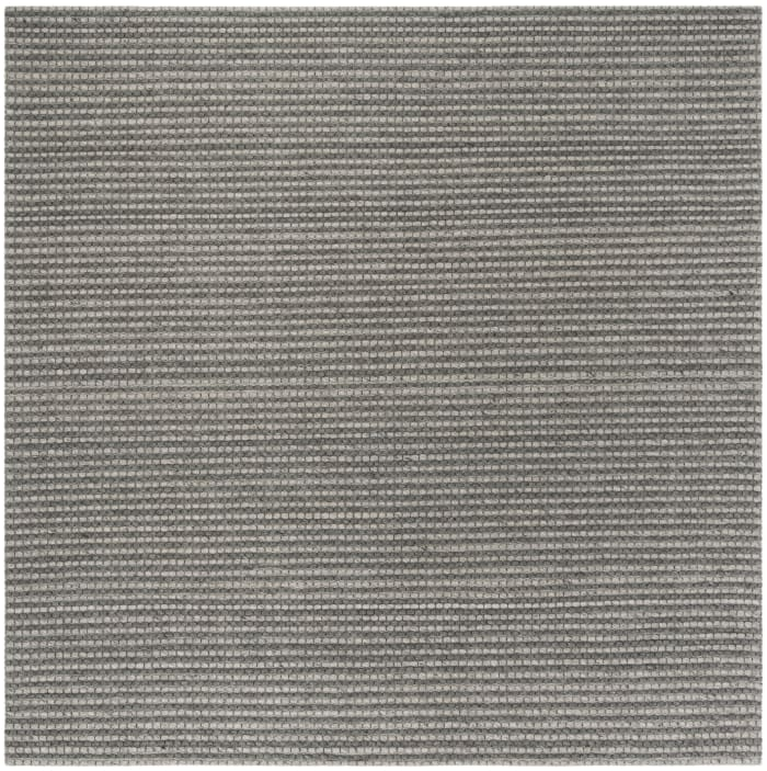 Chipley 801 6' X 6' Square Silver Wool Rug