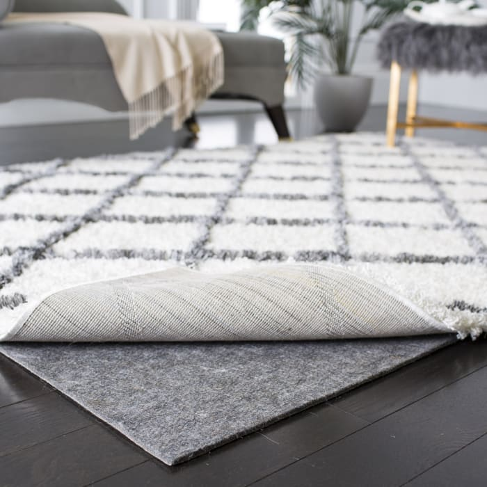 Dura Pad 2' X 10' Gray Polyester Rug