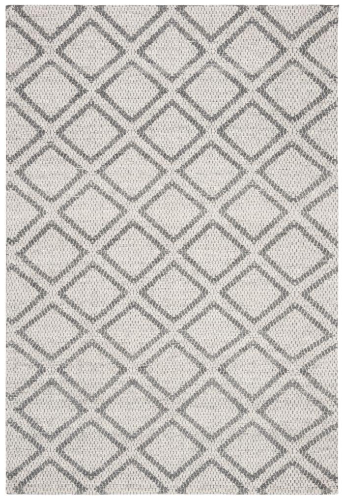 Essence 514 4' X 6' Silver Wool Rug