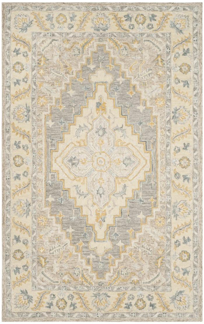 Essence 602 5' X 8' Tan Wool Rug