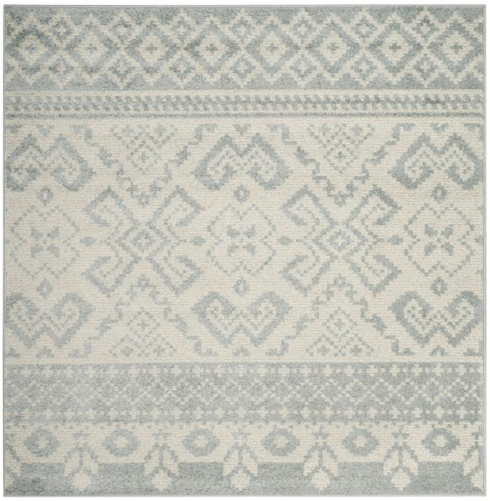 Everest 107 6' X 6' Square Gray Rug