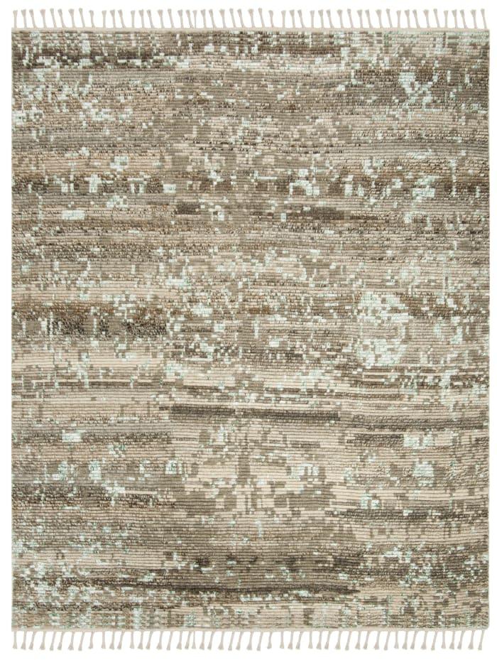 Gypsy 114 6' X 9' Tan Wool Rug