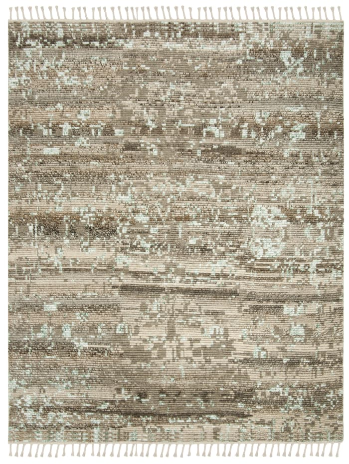 Gypsy 114 8' X 10' Tan Wool Rug