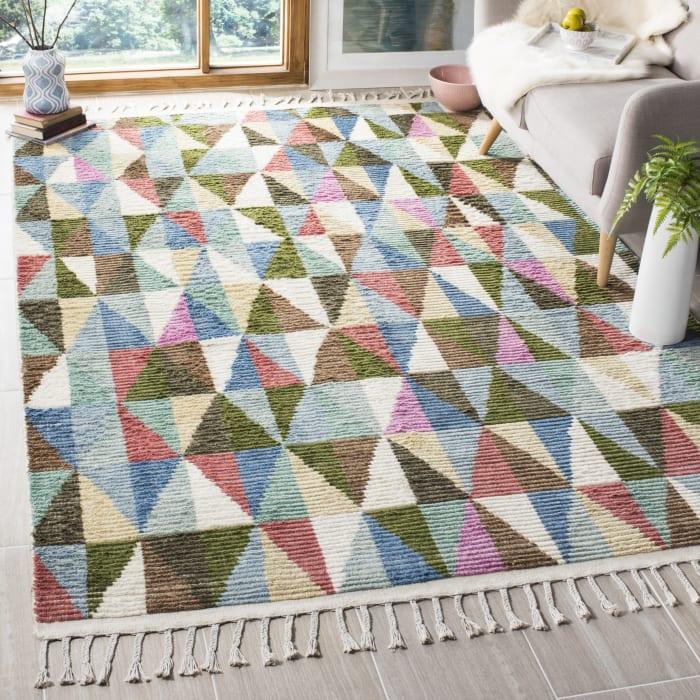 Gypsy 118 9' X 12' Multi Wool Rug