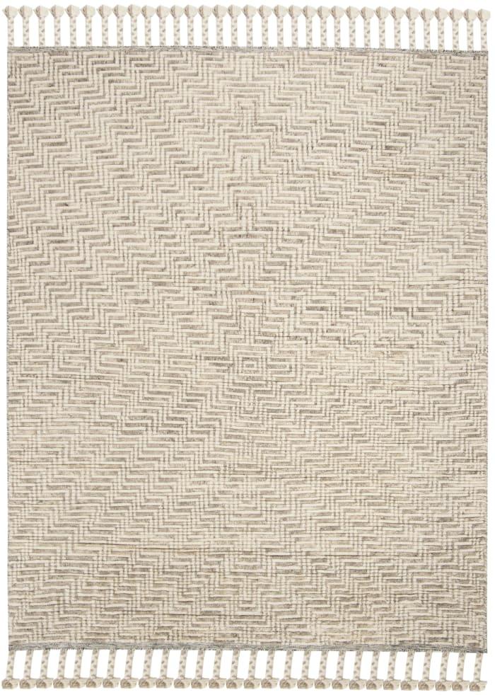 Gypsy 150 8' X 10' Ivory Wool Rug