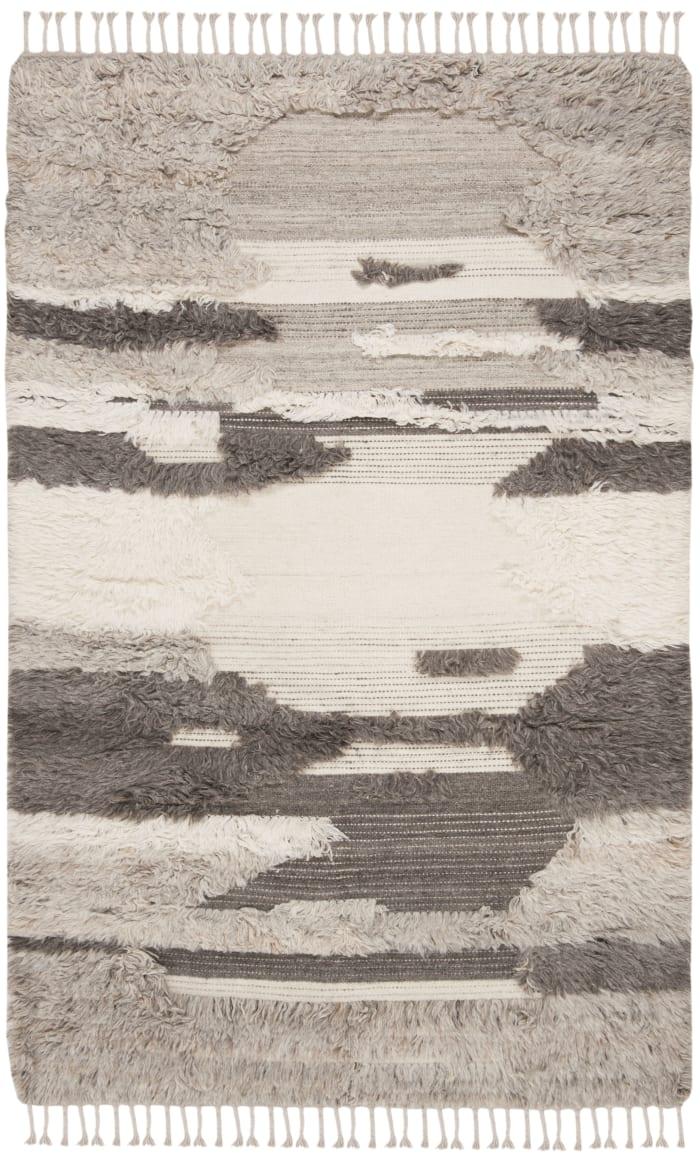 Gypsy 224 6' X 9' Ivory Wool Rug