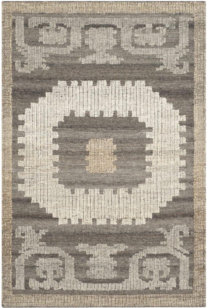 Gypsy 313 3' X 5' Ivory Wool Rug