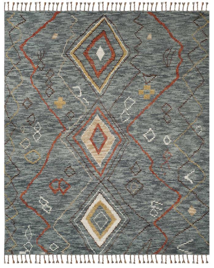 Gypsy 544 6' X 9' Gray Wool Rug
