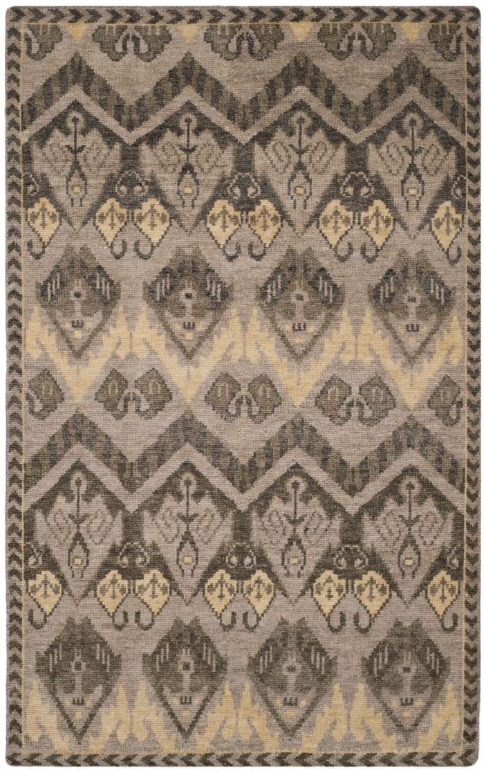 Gypsy 656 6' X 9' Gold Wool Rug