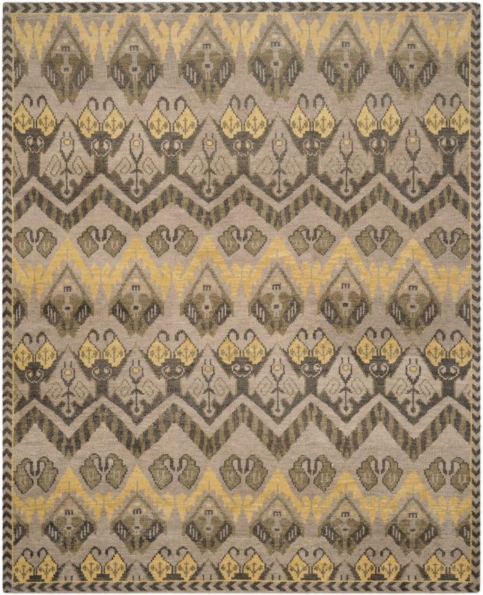 Gypsy 656 9' X 12' Gold Wool Rug