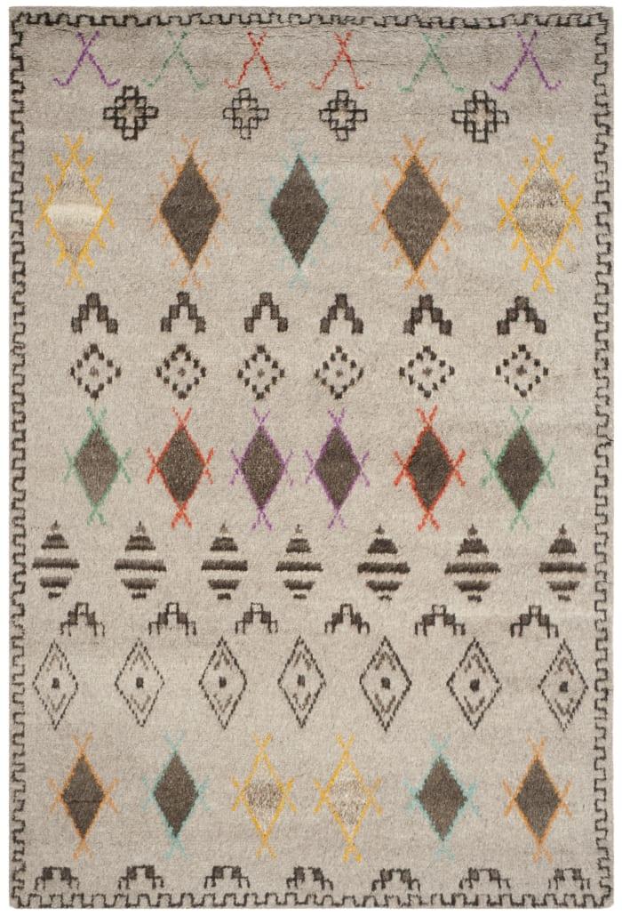 Gypsy 812 6' X 9' Natural Wool Rug