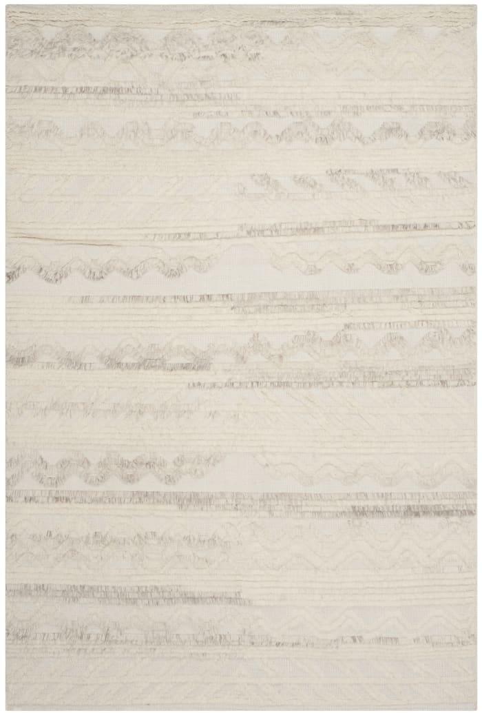 Gypsy 816 6' X 9' Ivory Wool Rug