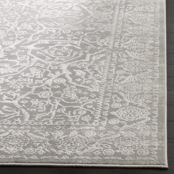 Haden 714 8' X 10' Gray Polyester Rug