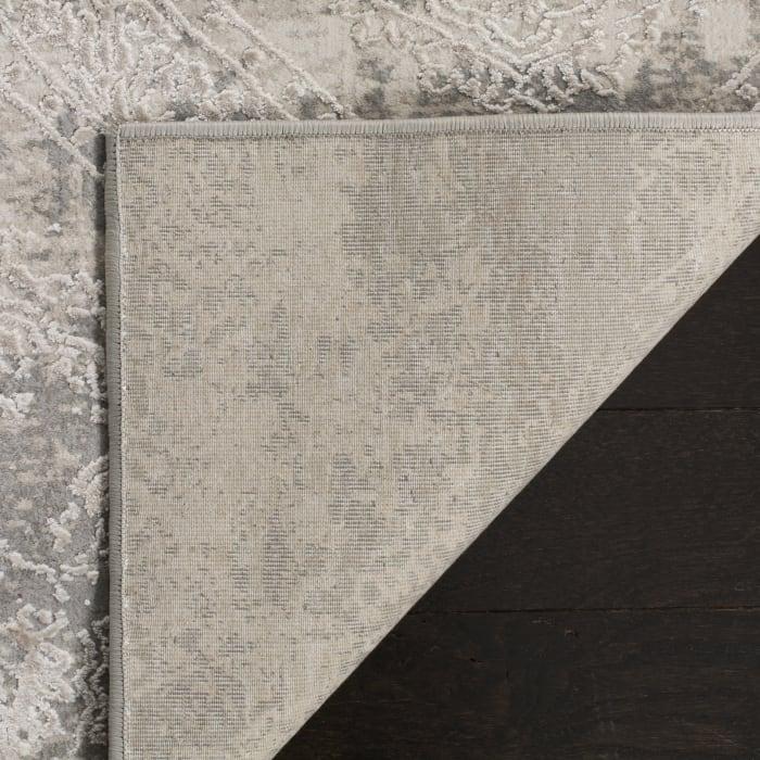 Haden 715 9' X 12' Gray Polyester Rug