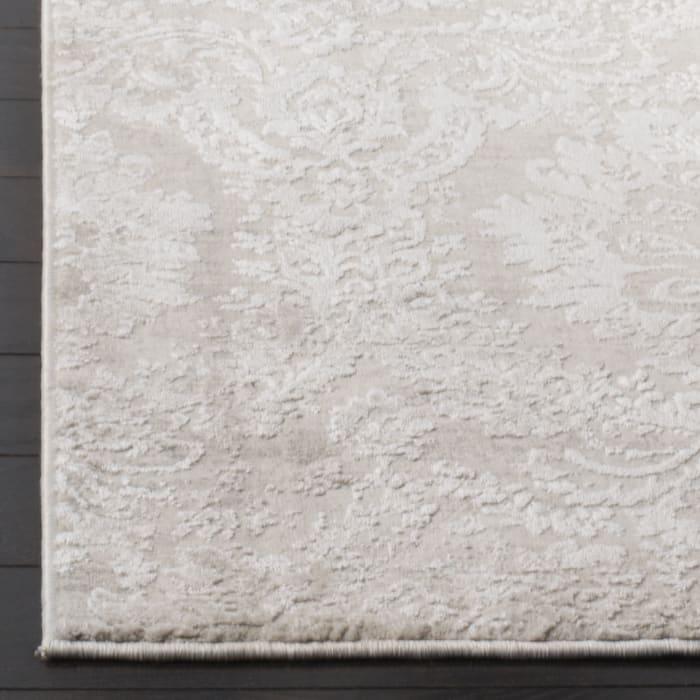 Haden 717 9' X 12' Silver Polyester Rug