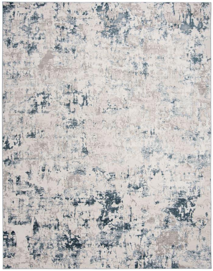 Hayden 144 9' X 12' Blue Polypropylene Rug