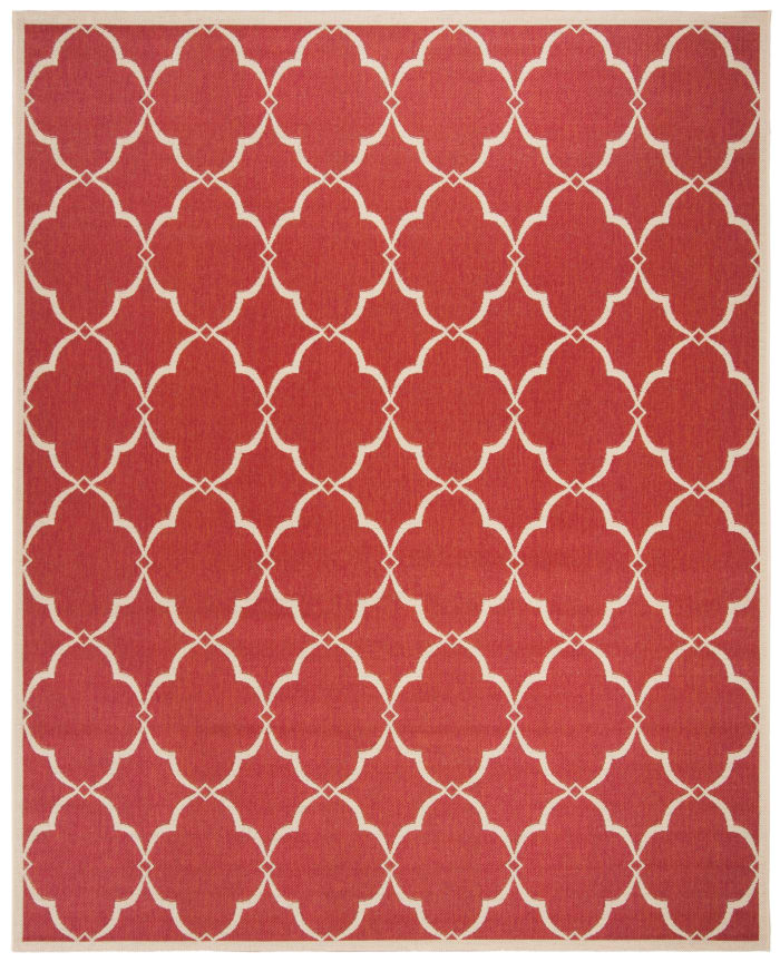 Red Polypropylene Rug 8' x 10'